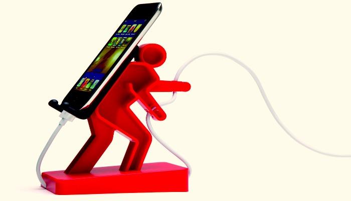 Прикольная подставка для телефона