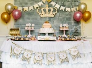 Оформление для тематического сценария женского дня рождения