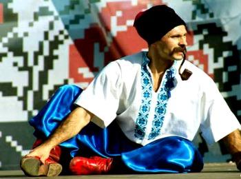 Украинец в национальной одежде