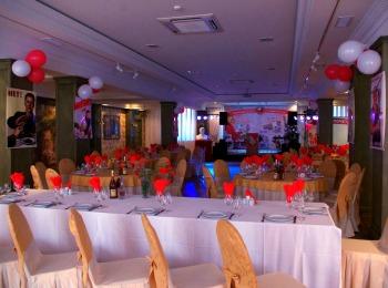 Украшение зала для тематического дня рождения