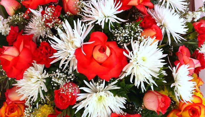 Букет цветов для подруги