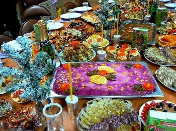 Традиционные праздничные блюда