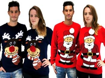 Парные новогодние свитера