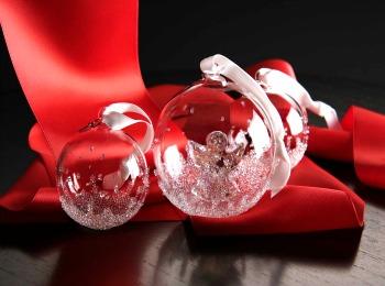 Стеклянные елочные шары