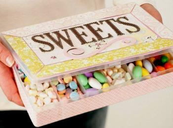 Коробка со сладостями для любимого парня