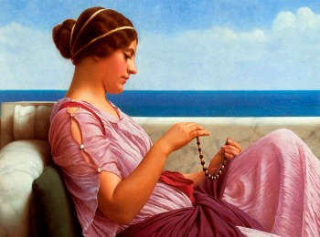 Женщина Древнего Рима