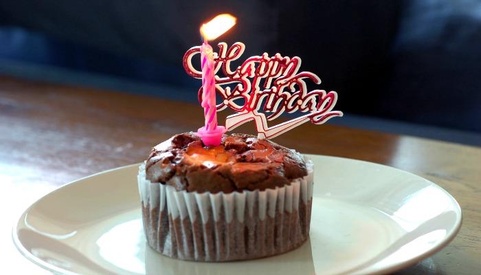 Кекс на день рождения мужчине