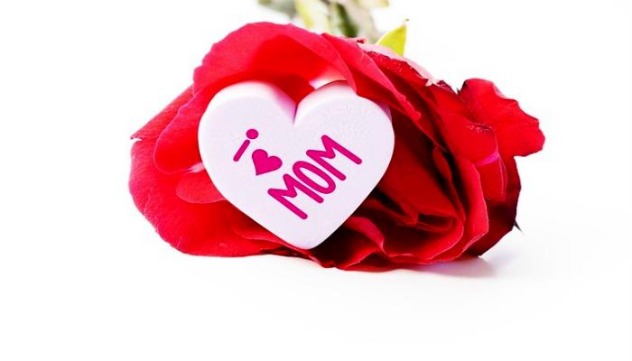Роза для мамочки