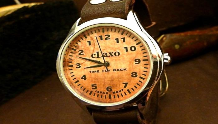 Наручные мужские часы с обратным ходом
