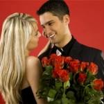 Жена поздравляет мужа