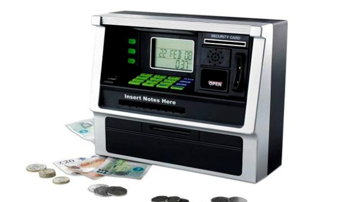Электронная копилка-банкомат