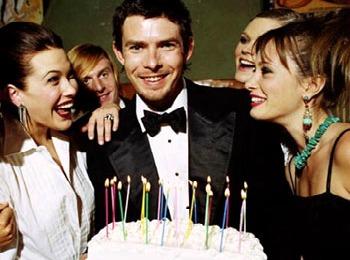Сценарий дня рождения для мужчины