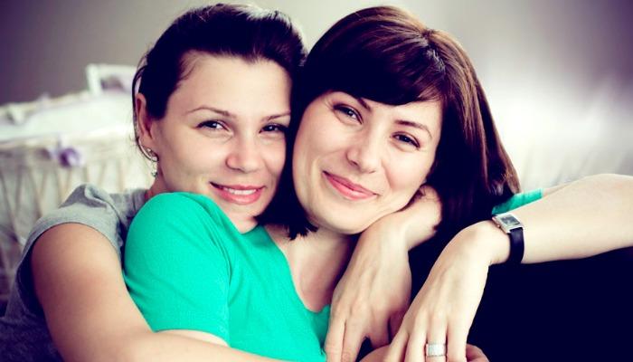 Две родные сестрички