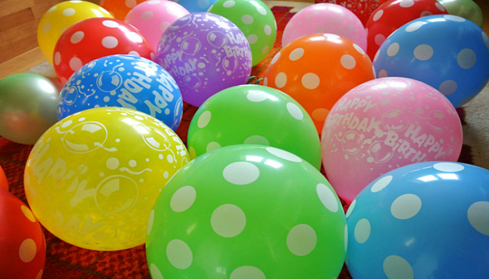 Разноцветные шарики для праздника
