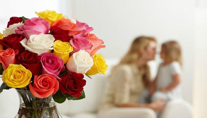 Букет цветов для мамочки