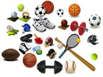 Принадлежности для занятия спортом