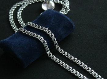 Серебряная цепочка для парня