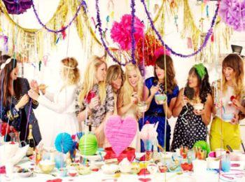 Вечеринка на дне рождения подруги