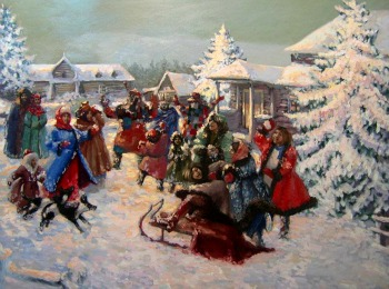 Народные зимние гуляния