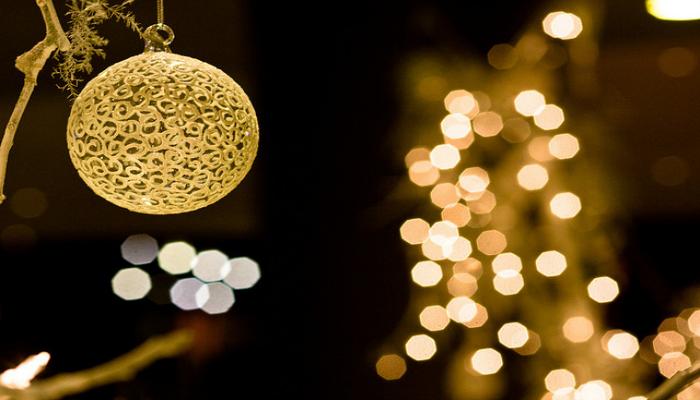 Новый год в золотых тонах